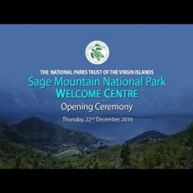 Embedded thumbnail for Sage Mountain National Park Welcome Centre - Opening Ceremony
