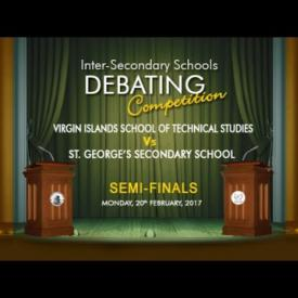 Embedded thumbnail for Inter-Secondary Schools Debating Competition - Semi Finals