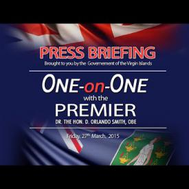 Embedded thumbnail for One On One with the Premier - Press Briefing, March 27th, 2015