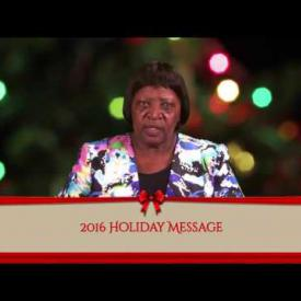 Embedded thumbnail for 2016 Holiday Message - Deputy Governor, Mrs. Roslie Adams