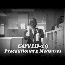 Embedded thumbnail for COVID-19 Precautionary Measures