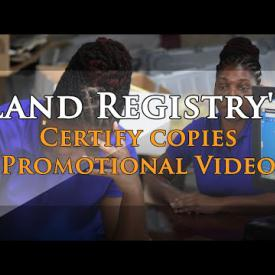 Embedded thumbnail for Land Registry's Certify Copies Promotional Video