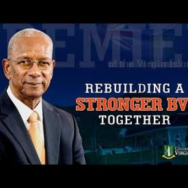 Embedded thumbnail for Statement by Premier Smith - Building a Stronger BVI Together