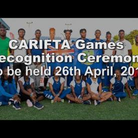 Embedded thumbnail for CARIFTA Games Recognition Ceremony