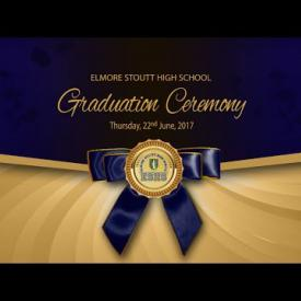 Embedded thumbnail for Elmore Stoutt High School Graduation 2017