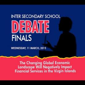 Embedded thumbnail for Inter Secondary Debate Finals