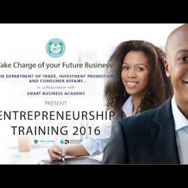 Embedded thumbnail for Entrepreneurship Training 2016