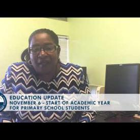 Embedded thumbnail for Education Update: Primary School Students To Report to School on Monday, Nov 6