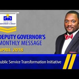 Embedded thumbnail for Inside the Governor's Group - Deputy Governor's Monthly Message for April