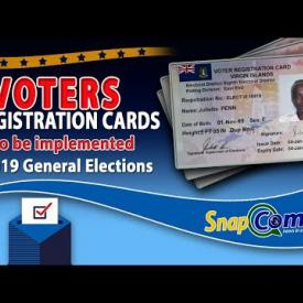 Embedded thumbnail for Voters Registration Cards To Be Used For 2019 Elections