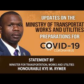 Embedded thumbnail for Statement by Minister for Transportation, Works and Utilities on COVID-19 Preparations