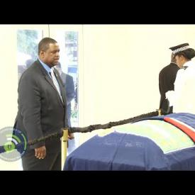 Embedded thumbnail for Hon.Ralph T. O'Neal, OBE, Member Emeritus, body lie in state at the House of Assembly Chambers