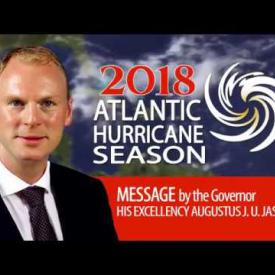 Embedded thumbnail for 2018 Atlantic Hurricane Season Message by Governor Jaspert