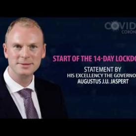 Embedded thumbnail for Message by His Excellency the Governor, Mr. Augustus J.U. Jaspert: Start of the 14-day Lockdown