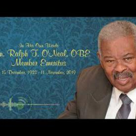 Embedded thumbnail for In his Own Words - Honourable Ralph T. O'Neal, OBE Member Emeritus
