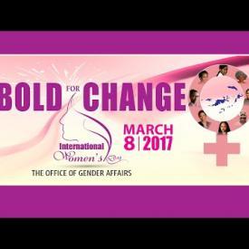 Embedded thumbnail for International Women's Day 2017 - Bold for Change