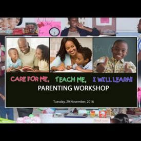 Embedded thumbnail for Enid Scatliffe Pre-Primary School Parenting Workshop