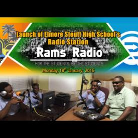 Embedded thumbnail for Launch of Elmore Stoutt High School's RAMS Radio