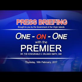 Embedded thumbnail for Premier's One on One Press Briefing