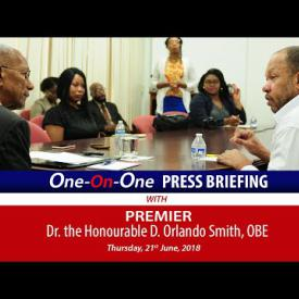 Embedded thumbnail for One-On-One Press Briefing
