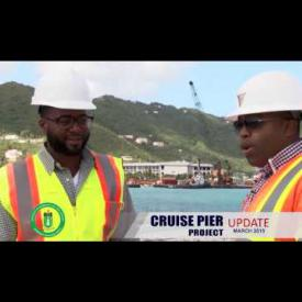 Embedded thumbnail for Cruise Pier Update - March 2015