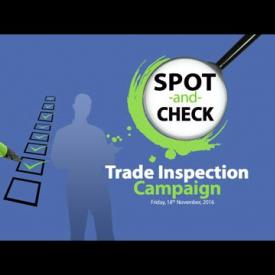 Embedded thumbnail for Spot-and-Check Trade Inspection Campaign