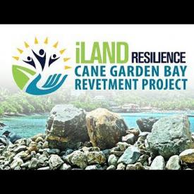 Embedded thumbnail for iLand Resiliance - Cane Garden Bay Revetment Project