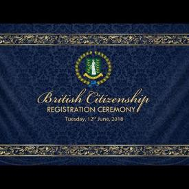 Embedded thumbnail for British Citizenship Registration Ceremony