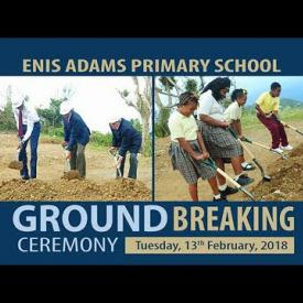 Embedded thumbnail for Enis Adams Primary School Ground Breaking Ceremony